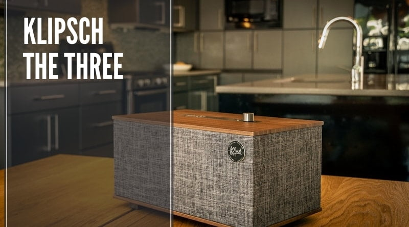 klipsch the three altoparlante bluetooh con google assistant